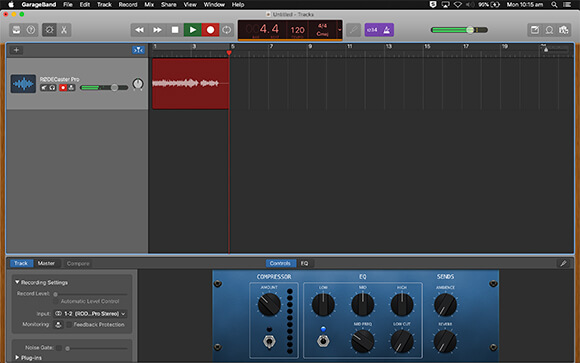 Record Streaming Audio On A Mac With Garageband