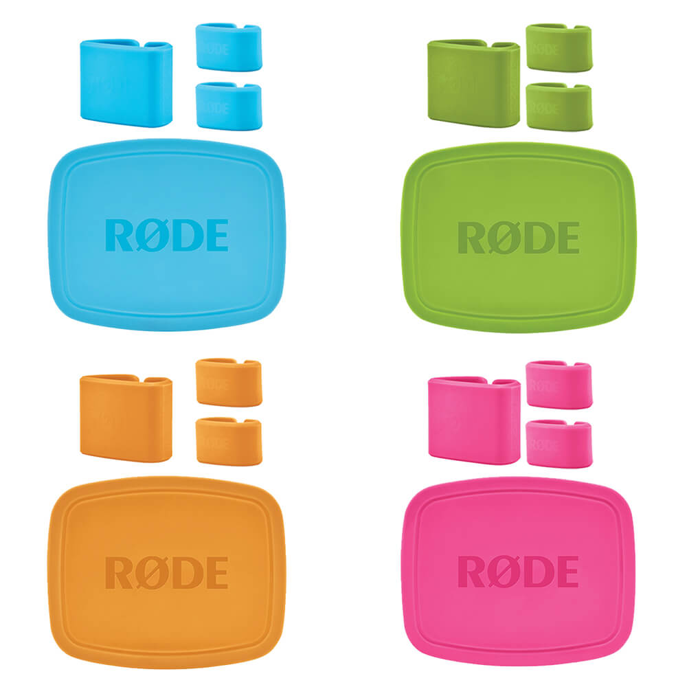 four color caps and ID clips