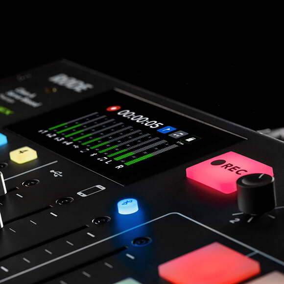 rodecaster pro recording to microsd card